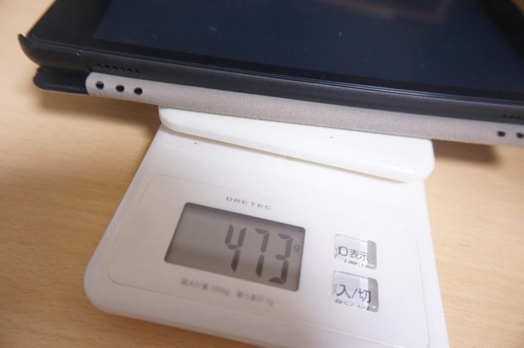 重さの比較(Fire HD 8)